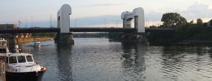 Hudson River - Troy, NY is one of John : понравившиеся места.