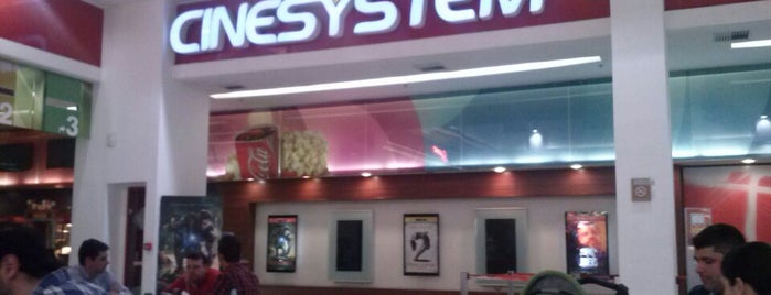 Cinesystem is one of Curitiba.