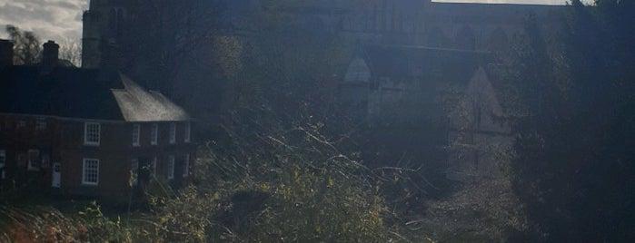 City Walls (Monkgate to Bootham) is one of Tempat yang Disimpan Sevgi.