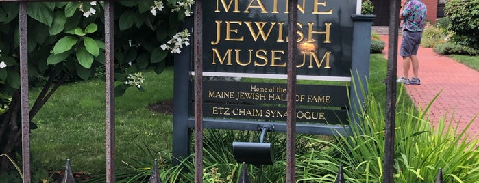 Maine Jewish Museum is one of Lieux qui ont plu à Andrew.