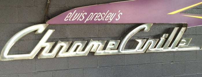 Elvis Presley's Chrome Grill is one of Memphis TN.