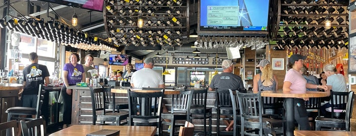 Sea Dog Brewing Company is one of St Pete Beach.