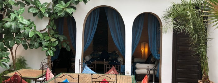 Riad Les Trois Mages is one of {moroccan moments}.