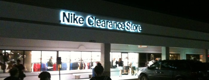 Nike Clearance Store is one of Orlando.