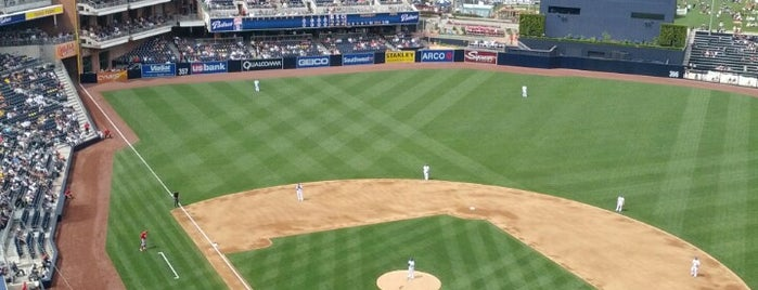 Petco Park is one of San Diego.