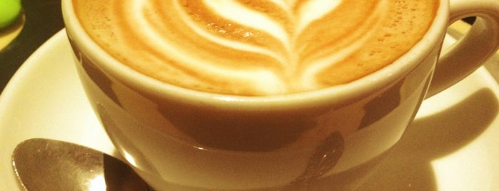 Pavement Coffeehouse is one of Boston Caffeine Adventures.