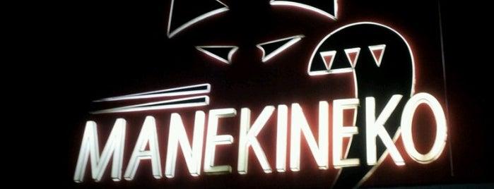 Manekineko is one of Melhores do Rio-Restaurantes, barzinhos e botecos!.