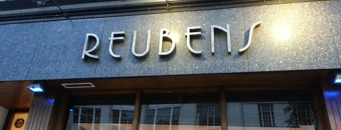 Reuben's is one of London Picks.