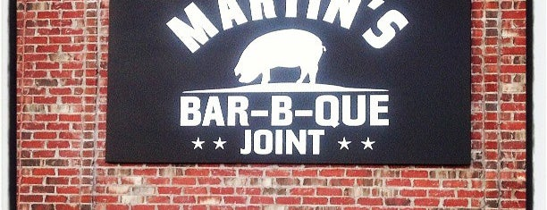 Martin's Bar-B-Que Joint is one of TN - Nashville.