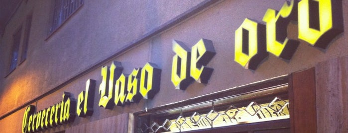 El Vaso de Oro is one of Barcelona's Best Tapas - 2013.