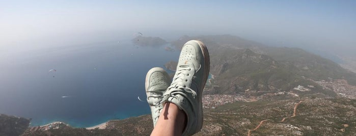 Fly İnfinity Tandem Paragliding is one of Ayça G.さんの保存済みスポット.