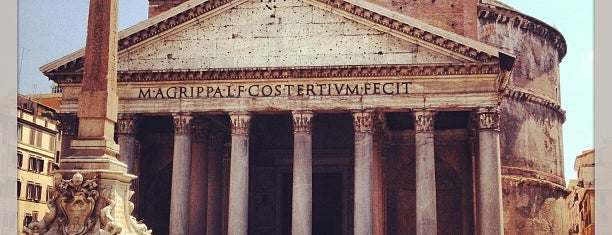 Pantheon is one of Rome.