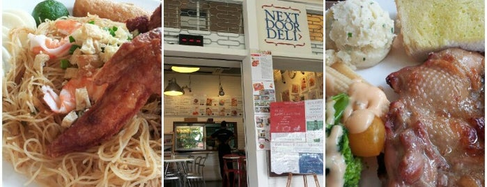 Next Door Deli is one of Singapore Food.