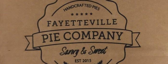 Fayetteville Pie Company is one of Hilton Head & Savannah.