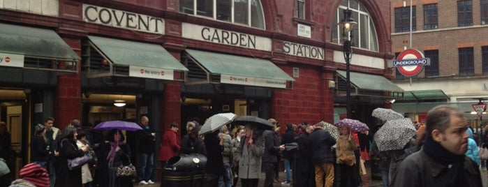 Covent Garden London Underground Station is one of Went before 2.0.