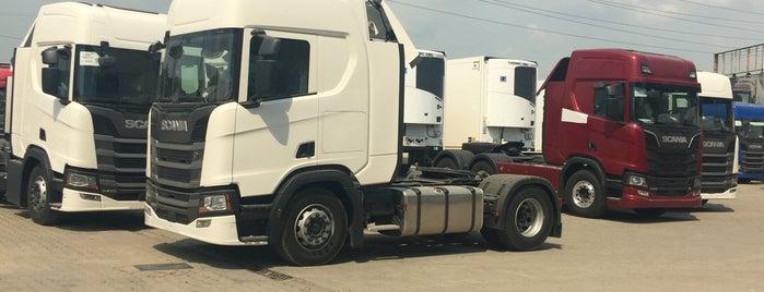 Scania - Doğuş Otomotiv is one of Tughan'ın Kaydettiği Mekanlar.