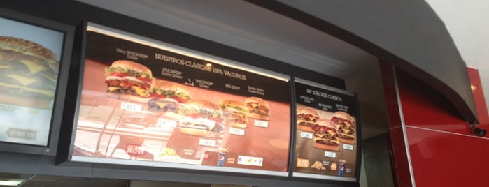 Burger King is one of April.