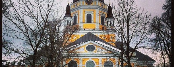 Katarina Kyrka is one of Stockholm.