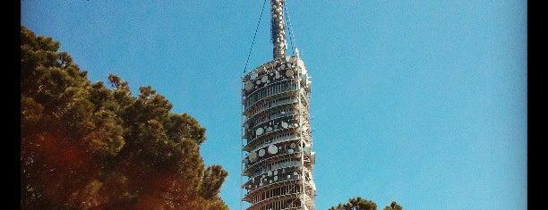 Torre de Collserola is one of Barcelona Selection.