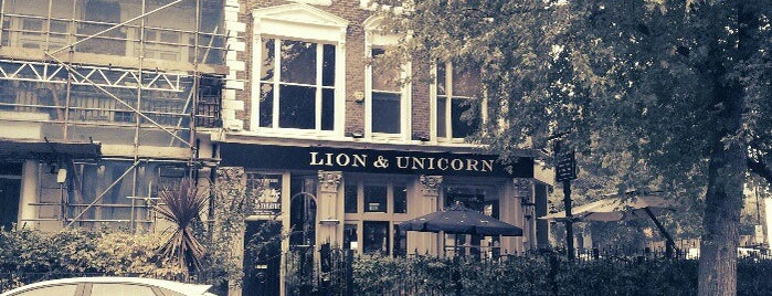 The Lion and Unicorn is one of London.