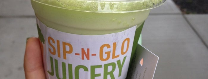 Sip-n-Glo Juicery is one of VisitPhilly.