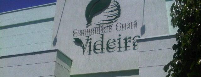 Comunidade Cristã Videira is one of Enjoy Fortaleza!.