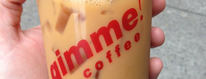 Gimme! Coffee is one of Coffee Tea Me You.