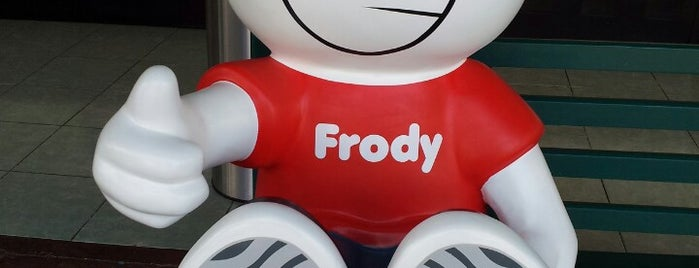 Frody - Ajusco is one of Locais salvos de Tania.