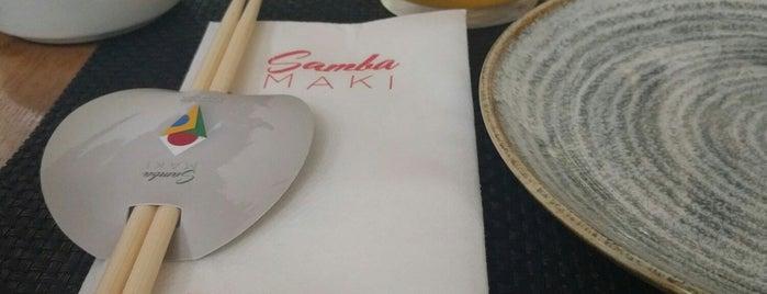 Sambamaki is one of Rome Arts and Food.