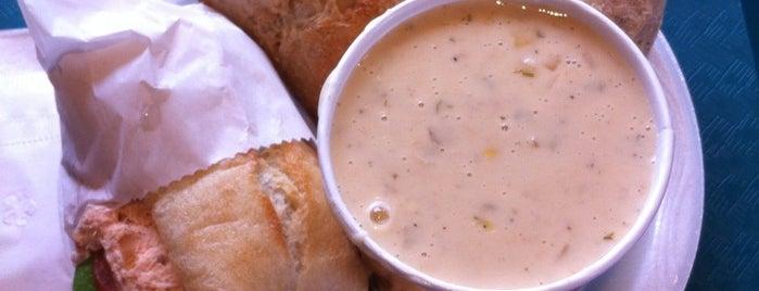 New England Soup Factory is one of Locais curtidos por Rob.