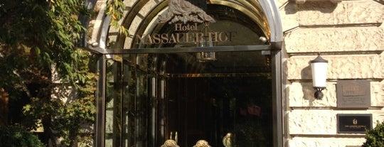 Nassauer Hof is one of Lugares favoritos de Ekaterina.