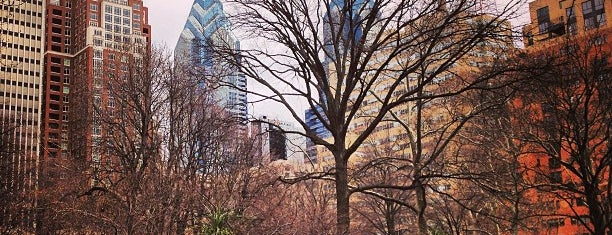 Rittenhouse Square is one of Philly.