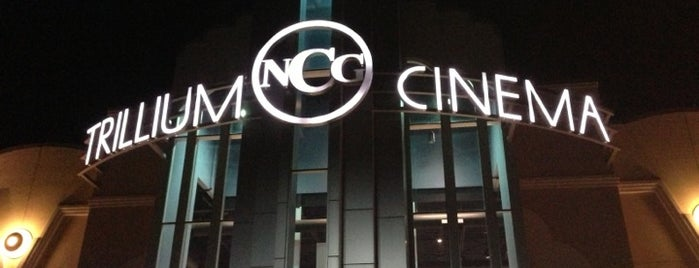 NCG Trillium Cinemas is one of 416 Tips on 4sqDay 2012.