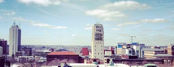 Ann Arbor, MI is one of Tempat yang Disukai Justin Eats.