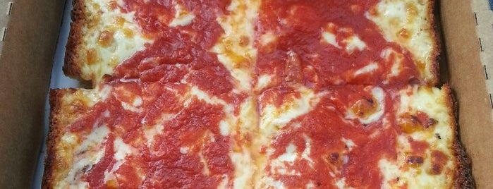 Buddy's Pizza is one of Food to Try - Not NY.