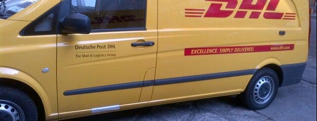 DHL Express is one of Tempat yang Disukai Osiris.