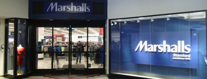 Marshalls is one of Darien, CT.