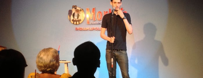 Morty's Comedy Joint is one of Locais curtidos por Brian.