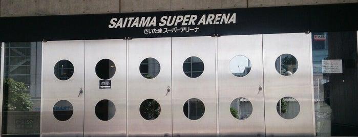 Saitama Super Arena is one of papecco2017 : понравившиеся места.