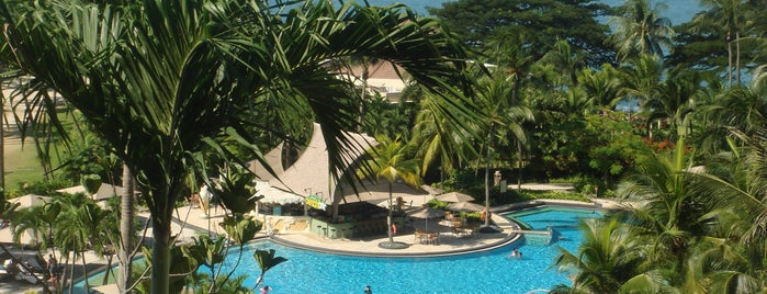 Shangri-La's Rasa Sentosa Resort & Spa is one of papecco2017 : понравившиеся места.