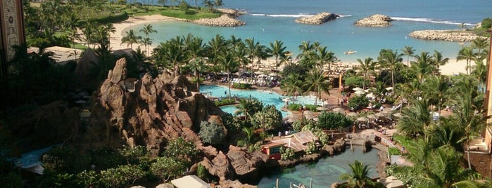Aulani, A Disney Resort & Spa is one of Tempat yang Disukai papecco2017.