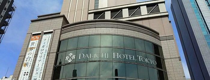 Dai-ichi Hotel Tokyo is one of Shinichi : понравившиеся места.