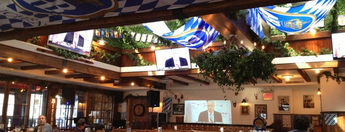Hofbräu Bierhaus NYC is one of NYCFC Bars.