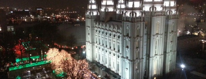 Temple Square is one of Salt Lake City.