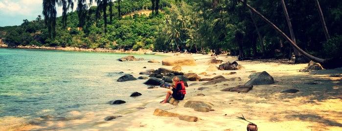 Haad Khom Beach is one of Phangan.