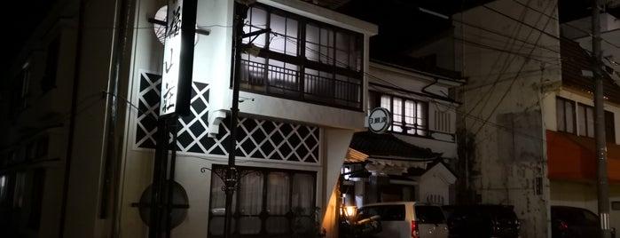 旅館 福山荘 is one of 宿、旅館、ホテル.