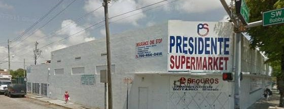 Presidente Supermarket is one of Top Ten Supermarkets In Miami.