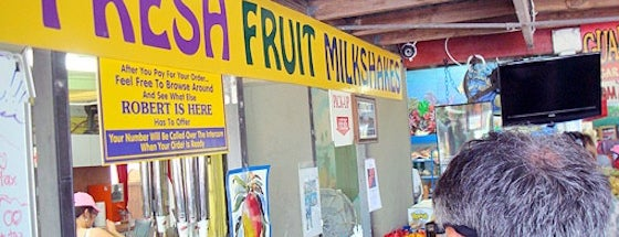 Robert Is Here Fruit Stand & Farm is one of Top Ten Places To Take Out-Of-Towners In Miami.