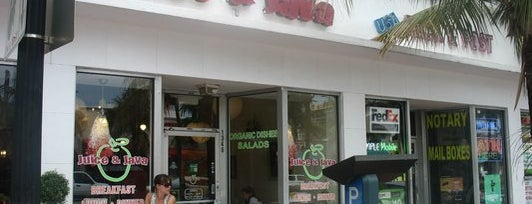 Juice & Java Cafe at Equinox is one of Miami.