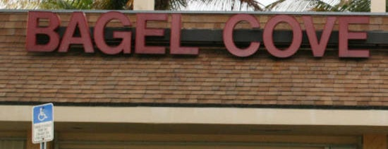 Bagel Cove is one of Miami's Top Ten Breakfast Spots.